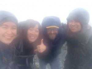 Suzanne, Katie, Nik and Ian